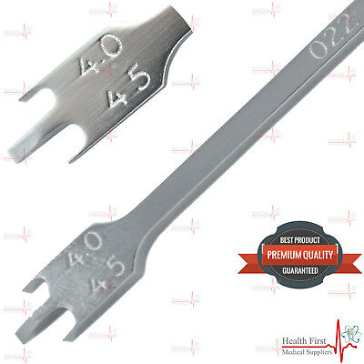 Bracket Positioning Height Gauge Measuring Dental Gauges Ortho Lab Wick Type CE