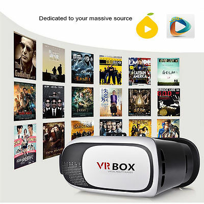 3D VR Box Headset Virtual Reality Glasses Goggle Smartphone Bluetooth Movie Game