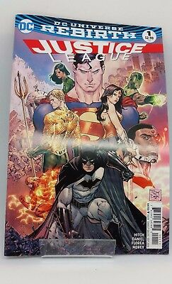 Justice League #1 DC Universe Re Birth Comic