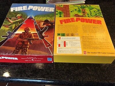 FIRE POWER Avalon hill