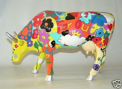 Cow Parade »Groovy Moo« Cowparade Large