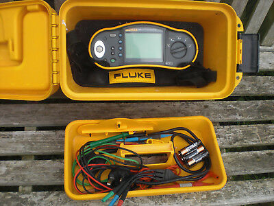 Fluke 1651 Multi function Meter Tester & Accessories 1652 B 1654 1653