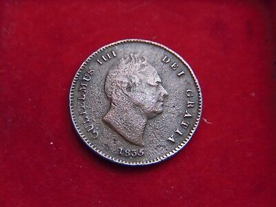 1835 William 1V One Third Of A  Farthing  [W40]