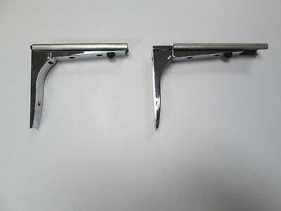 Two Fold-Able Commercial Shelf Brackets