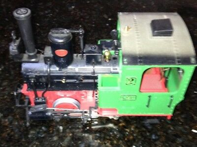Lehmann West Germany LGB 2 #2020 Railroad Steam Locomotive Engine Train G Scale