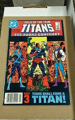 Tales Of The Teen Titans #44 1St Nightwing High Grade