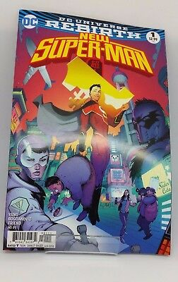 New Super-Man #1 DC Universe Re Birth Comic