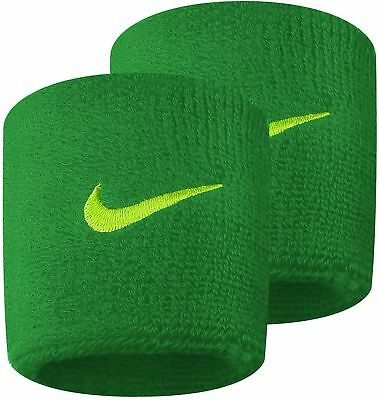 Nike Swoosh Wristbands (1 pair) - Green