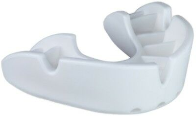 OPRO Self-Fit GEN3 Full Pack Bronze Junior Mouthguard - White