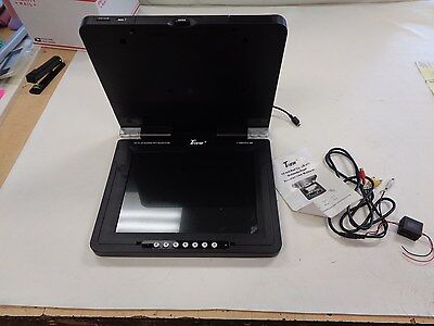 "Tview T159Dvfd-Bk 15"" Roof Top Lcd Flip Down Tv W / Usb & Sd Port Marine Boat"