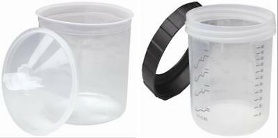 3M-16000/16001 Pps Standards Size Startup Kit 1 Hard Cup With 20 Liners & Lids