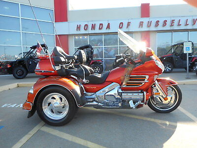 2003 Honda Gold Wing  2003 Honda GL1800 Gold Wing Motor Trike With Accessories
