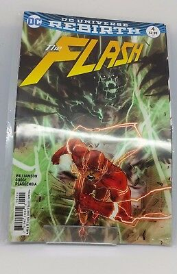 The Flash #4 DC Universe Re Birth Comic