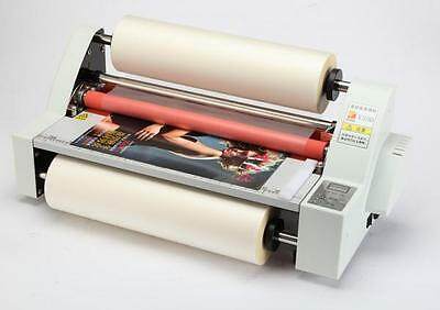 Brand New Desktop 350mm/480mm Hot & Cold Roll Laminator Laminating Machine