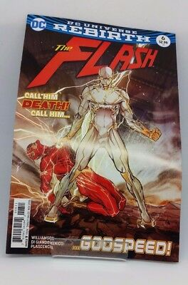 The Flash #6 DC Universe Re Birth Comic