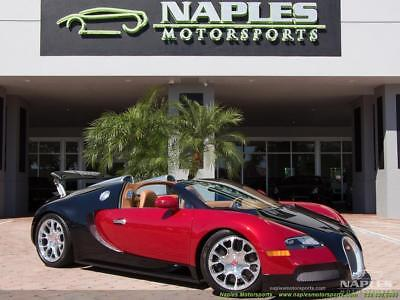 2012 Bugatti Veyron GrandSport 16:4 2012 Bugatti Veyron GrandSport 16:4 - NEW TIRES - SERVICED - TWO TONE PAINT