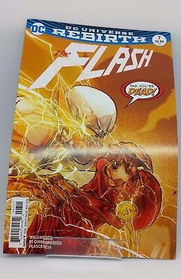 The Flash #7 DC Universe Re Birth Comic