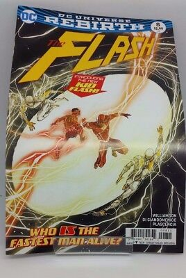 The Flash #8 DC Universe Re Birth Comic