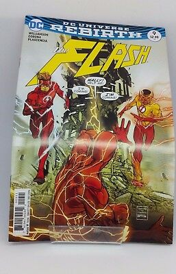 The Flash #9 DC Universe Re Birth Comic