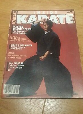 Inside Karate Martial Arts November 1984