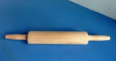 Traditional Wooden Rolling Pin - Length 17.50 inches - Very Good Condition