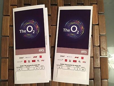 Metallica Worldwired Tour Pair of tickets for October 24, O2 Arena, London