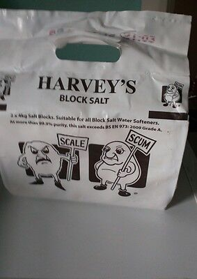 Harveys water softener block salt (multiple (40 +) packs regularly in stock)