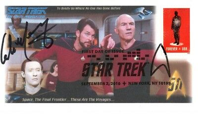 "Colm Meaney ""Star Trek The Next Genertion"" Signed Cover plays Miles O'Brien B"