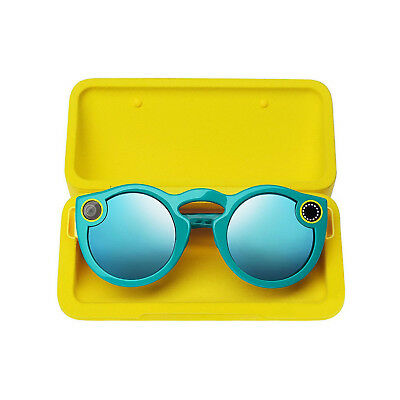 Spectacles Snap Kamera Gläser für Snapchat, Teal - Factory Sealed