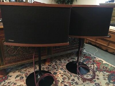 bose 901 V with tulip stands and equalizer