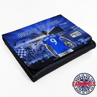 Queen Of The South Football Wallet Flip *Unofficial* Gift *Personalised* AF105