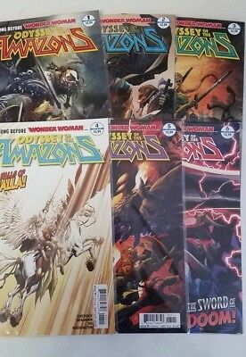 Odyssey of the Amazons #1-6, 2, 3, 4, 5 DC Comics Complete Run NM Wonder Woman