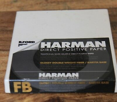 harman positive direct 4x5, part used