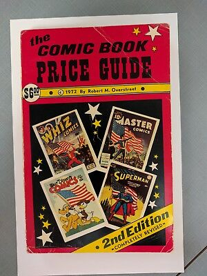 OVERSTREET COMIC BOOK PRICE GUIDE # 2 1972 VG/FINE s17-173