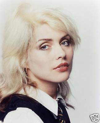 "Deborah Harry  ""Blondie""  8x10 Music Memorabilia FREE US SHIPPING"