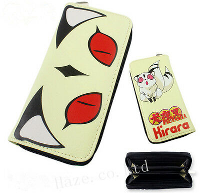 Inuyasha Kirara Kilala Cat PU Leather Long Wallet Purse PRESENT