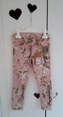NEXT girls pink jeans age 4 years