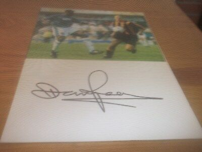 Dennis Pearce  Wolves Notts County Peterbrough  Signed Card