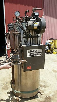 1990 Fulton 15 Horse Fuel Fired Steam Boiler