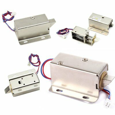 Generic DC12V File Display Cabinet Drawer Latch Assembly Solenoid Electric Lock