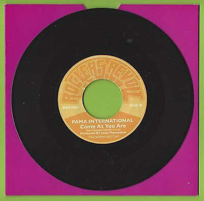 "Pama International - Come As You Are / Dub As You Are - 7"" Single - Rr7-001"