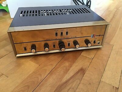 Realistic Saf-24B Stereo Integrated Tube Amplifier Sound Fabulous Rare