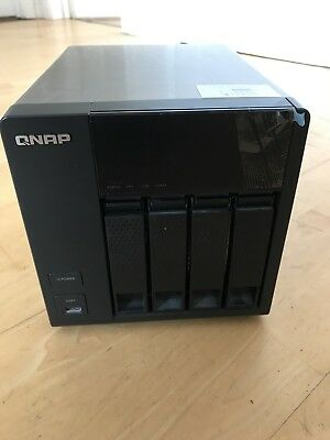 QNAP TS-412 NAS 4-Bay 9TB (Hard Disks Installed) Network Attached Storage Server