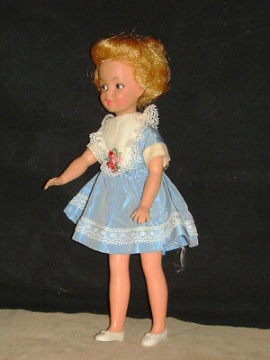 "1960s Pepper Doll of ""Tammy's Family"" Dress, Panties&Shoes Ideal Toy Corp VGC NR"