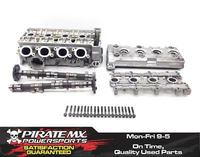 R6 Engine Cylinder Head Complete W Cams Valves from 2002 Yamaha YZF #66 x