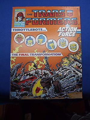 The Transformers UK Weekly Comic #154 Feb 1988