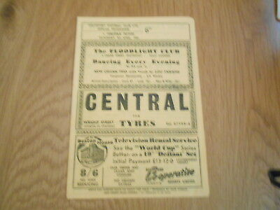 Southport V Halifax Town  9/4/19667