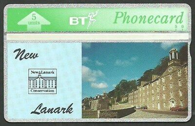BTG100 NEW LANARK CONSERVATION MINT BT PHONECARD ONLT 500 ex