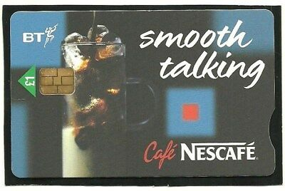 Pro496 Cafe Nescafe Smooth Talking Mint Bt Phonecard