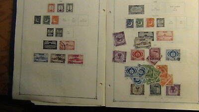 Pakistan stamp collection on Scott Int'l pages to '70